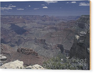 Wood Print featuring the photograph Grand Canyon 4 by Stan and Anne Foster