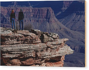 Grand Canyon 5 Wood Print by Donna Corless