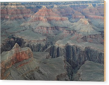 Grand Canyon At Dusk Wood Print by Pierre Leclerc Photography