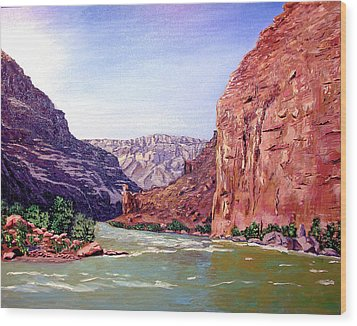 Grand Canyon I Wood Print by Stan Hamilton
