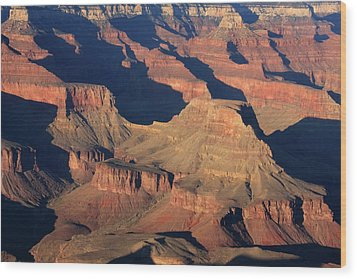 Grand Canyon Light  Wood Print by Aidan Moran