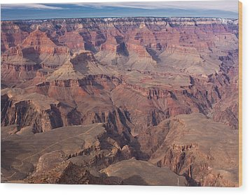 Grand Canyon Overlook Wood Print by Peter Skiba