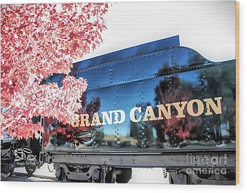 Grand Canyon Railroad Wood Print