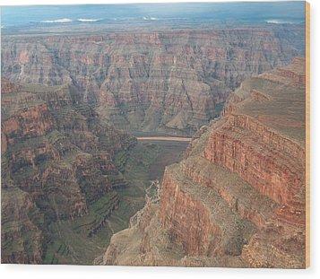 Grand Canyon Wood Print by Rita Tortorelli