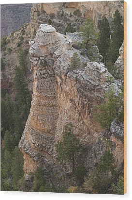 Wood Print featuring the photograph Grand Canyon Spire by Joshua House