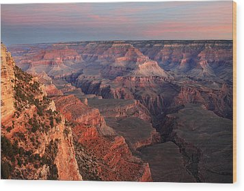Grand Canyon Sunrise Wood Print by Pierre Leclerc Photography