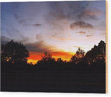 Grand Canyon Sunset Wood Print