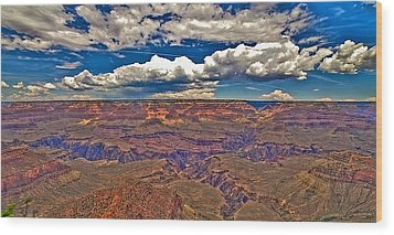 Grand Canyon Wood Print by William Wetmore