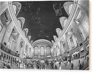 Wood Print featuring the photograph Grand Central Station by Mitch Cat