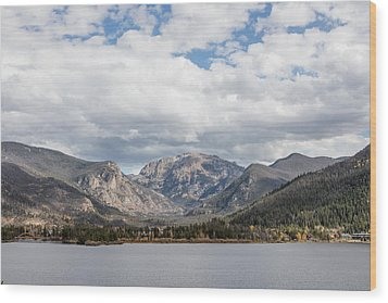 Grand Lake -- Largest Body Of Water In Colorado Wood Print by Carol M Highsmith