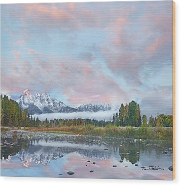 Grand Teton National Park, Wyoming Wood Print