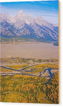 Grand Tetons Views Wood Print by James BO  Insogna