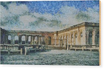 Grand Trianon Wood Print by Aaron Stokes