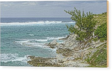 Wood Print featuring the photograph Grand Turk North Coast by Michael Flood