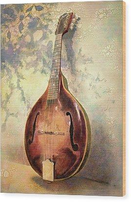 Grandaddy's Mandolin Wood Print