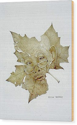 Grandfather Wood Print by Tim Ernst