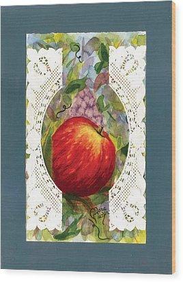 Grandma's Window Wood Print