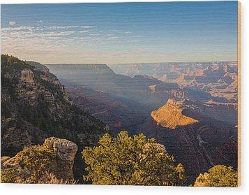 Grandview Sunset - Grand Canyon National Park - Arizona Wood Print by Brian Harig
