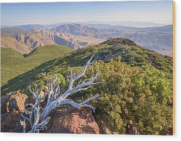 Wood Print featuring the photograph Granite Mountain View by Alexander Kunz