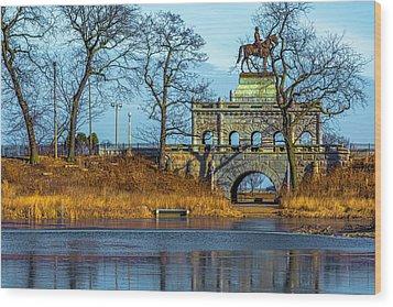 Grant Memorial Lincoln Park Dsc3218 Wood Print