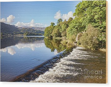 Wood Print featuring the photograph Grasmere, Lake District National Park by Colin and Linda McKie