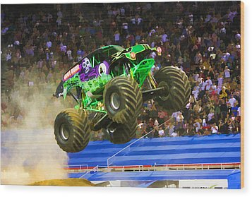 Grave Digger 7 Wood Print by Lanjee Chee