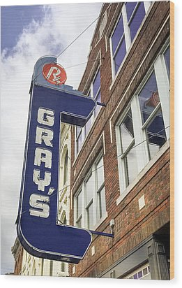 Gray's Rx In Franklin Tn Wood Print