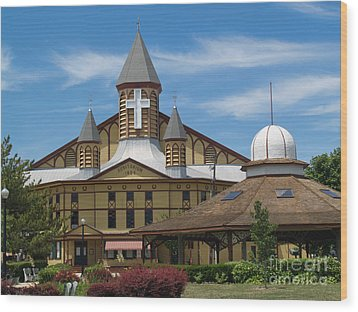 Great Auditorium Of Ocean Grove New Jersey Wood Print