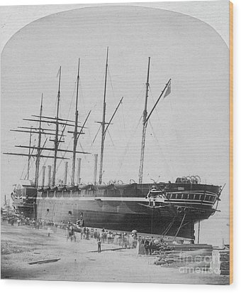 Great Eastern 1858-59 Wood Print by Granger