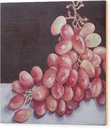 Great Grapes 2 Wood Print