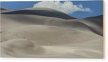 Great Sand Dunes National Park II Wood Print by Greg Reed
