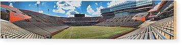 Great To Be A Florida Gator Wood Print by Dean Traiger