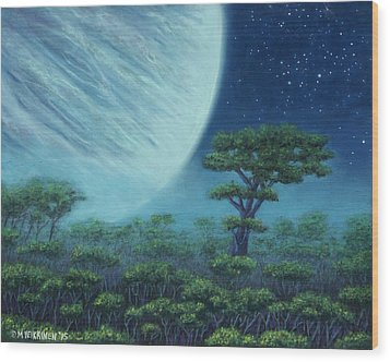 Great Tree 01 Wood Print
