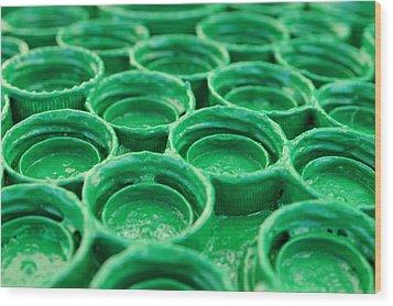 Green Wood Print by Dan Holm
