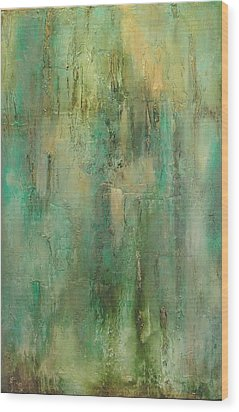 Green Envy Wood Print