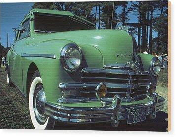 American Limousine 1957 Wood Print