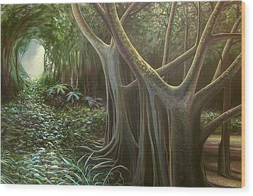 Green Mansions Wood Print