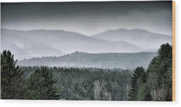 Wood Print featuring the photograph Green Mountain National Forest - Vermont by Brendan Reals