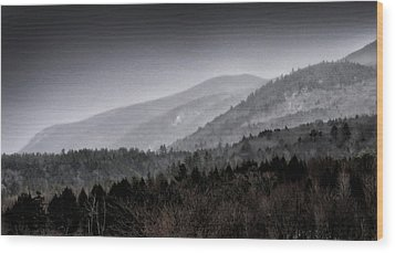 Wood Print featuring the photograph Green Mountains - Vermont by Brendan Reals