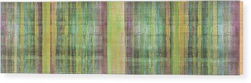 Green Spirit Wood Print by Ab Stract