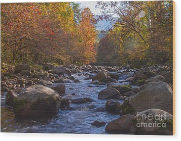 Greenbriar Creek Wood Print