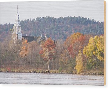 Wood Print featuring the photograph Grenville Quebec - Photograph by Jackie Mueller-Jones