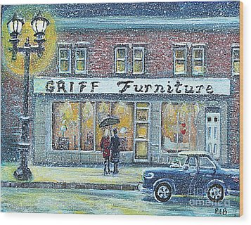 Griff Furniture Wood Print