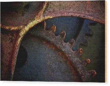 Grinder Wood Print