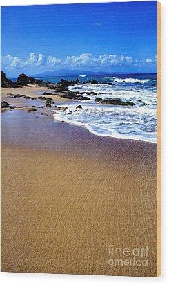 Gringo Beach Vieques Puerto Rico Wood Print by Thomas R Fletcher