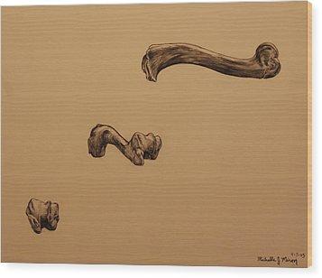 Growing Bone Wood Print