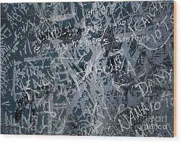 Grunge Background I Wood Print by Carlos Caetano
