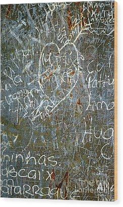 Grunge Background IIi Wood Print by Carlos Caetano