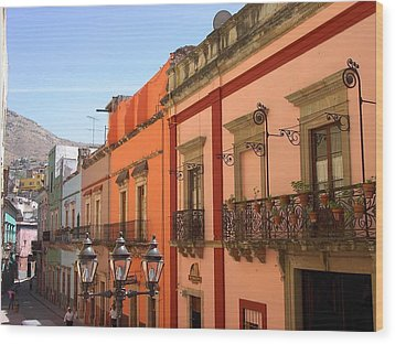Wood Print featuring the photograph Guanajuato by Mary-Lee Sanders