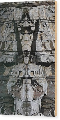 Wood Print featuring the photograph Guardians Of The Lake by Cathie Douglas